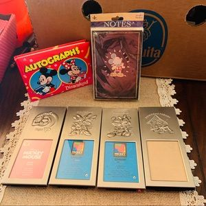 Disney Mickey Mouse Picture frames notes & book